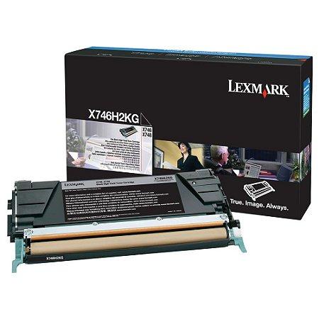 Toner Original Lexmark X746h2kg Black X746 X748 12k