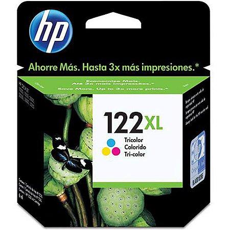 Cartucho Original HP 122xl Color Ch564hb val 02-2019