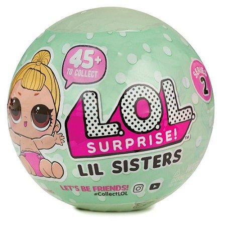 Mini Boneca Surpresa - LOL - Lil Outrageous Littles - Serie 2 - 7 Surpresas - Candide 8900
