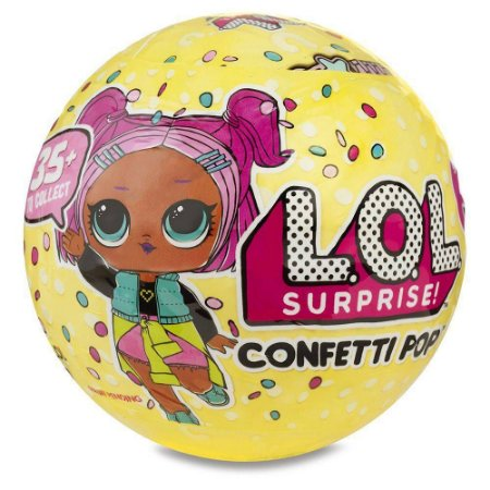 Boneca LOL Surprise Série 3 Confetti Pop - 9 Surpresas - com Acessórios Candide 8906