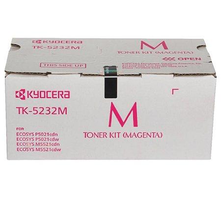 Toner Original Kyocera Tk5232 TK5232m Magenta KyoceraEcosys M5521cdw P5021cdw 2,2k