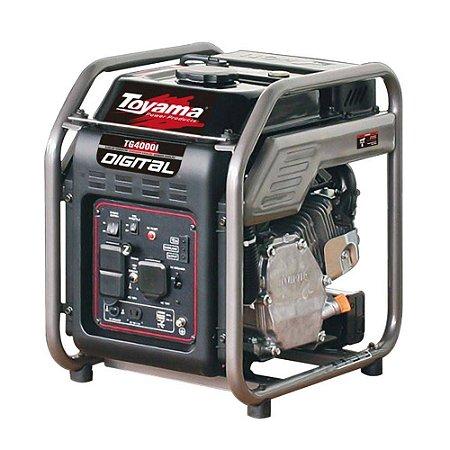 Gerador de Energia Digital a Gasolina 4KVA Monofásico - TOYAMA-TG4000IP 110v