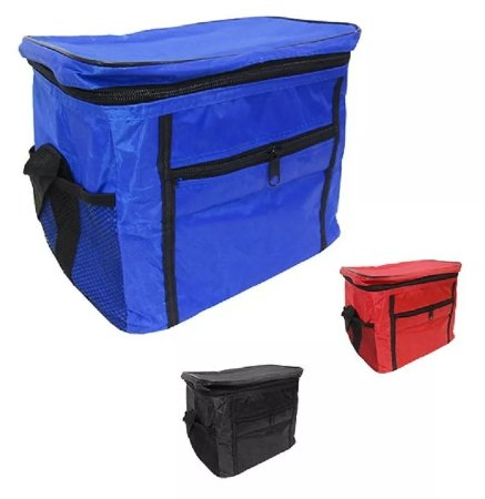 Bolsa Térmica Azul Cooler 10 Litros