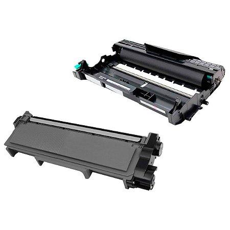 Kit Fotocondutor Dr2340 + Toner Compatível Brother Tn2370 L2320D L2360DW L2360 L2540DW L2740DW