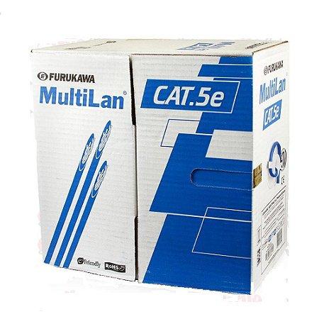 Cabo De Rede Multi-lan Cat.5e 24awg Caixa 305 metros AZUL Furukawa