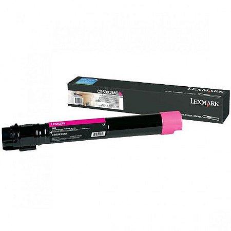 Toner Original Lexmark C950x2mg Magenta C950 X950 X952 X954 22k