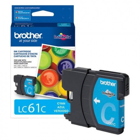 Cartucho Original Brother Lc-61 Lc61 Lc-61Bk Black Dcp165c Dcpj140 Mfc290 Mfc490 Mcf5490 Mfc6490