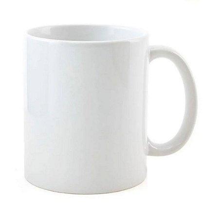 Caneca de Porcelana Branca Para Sublimação 325ml Classe AAA Bestchoice