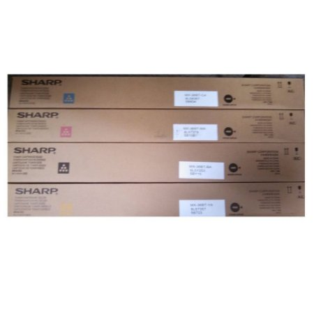Kit 4 Toner Original Sharp36bt Mx36bt Mx3610 Mx2610 Mx3110 K M C Y