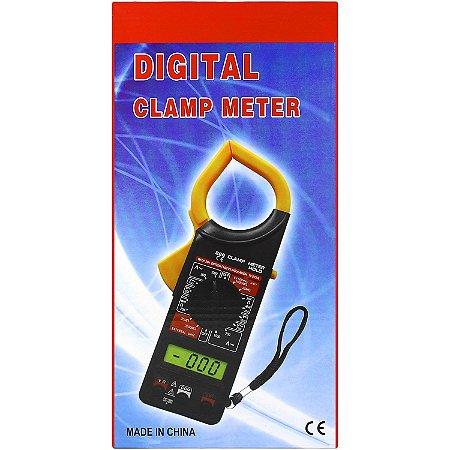 Alicate Amperímetro Profissional Digital Medição 600v Cat Ii + ESTOJO