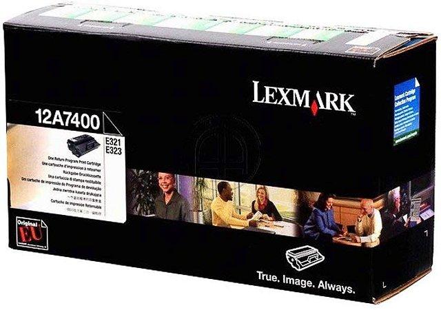 Toner Original Lexmark 12a7400 E321 E323 3k