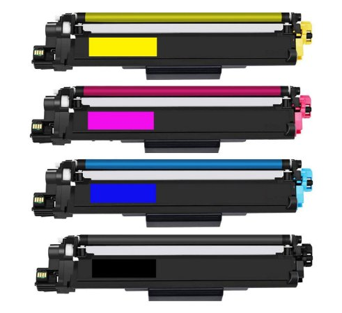 Kit 4 Cores Toner Compatível Brother Tn213 Tn-213 L3210 L3230 L3270 L3290 L3750 L3551 K M C Y