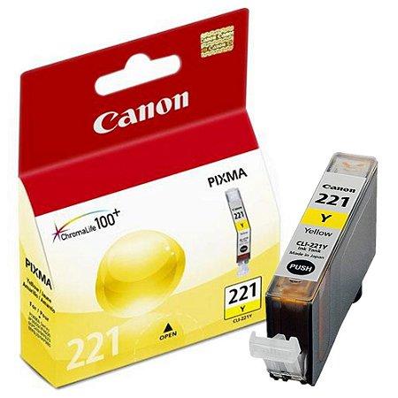 Cartucho Original Canon Cli221 Cli-221 Cli-221Y Yellow  9ml