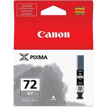Cartucho Original Canon 72 PGI-72GY Gray Pixma Pro-10 Pro10 Photo 14ml
