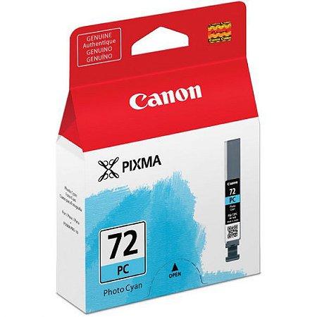 Cartucho Original Canon 72 PGI-72PC Photo Cyan Pixma Pro-10 Pro10 Photo 14ml