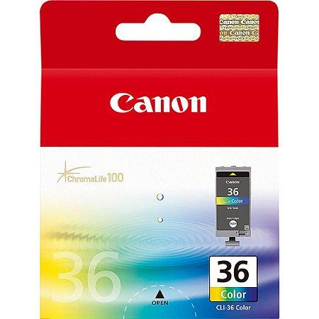 Cartucho Original Canon CLI-36 CLI36 iP100 iP110 12ml - 1511B020AA