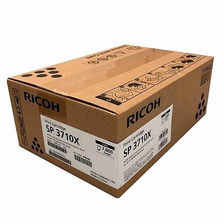 Toner Original Ricoh Black Sp3710 Sp3710x 408284 No box 7K