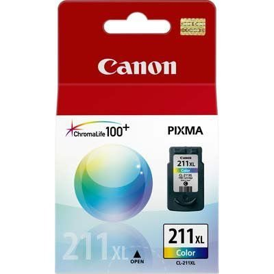 Cartucho Original Canon Cl211xl Cl 211xl Cl-211xl 2975B017AA Color 13ml