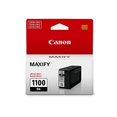 Cartucho Original Canon PGI-1100 PGI1100 PGI1100BK Preto Mb2710 Mb2010 Mb2110 12,4ml