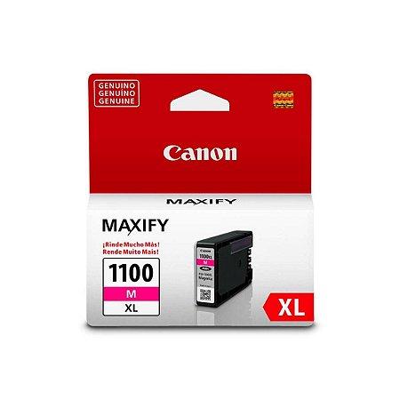 Cartucho Original Canon PGI-1100XL PGI1100XL Magenta Mb2710 Mb2010 Mb2110 12ml