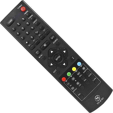 Controle Philco Remoto Smart Tv  Ph32d Ph28s63d Ph42d Ph32m Ph42m Vc-A8191