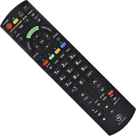 Controle Remoto Tv Smart Panasonic Viera Tools N2QAYB000659 L42ETX54 L42ETW60 L47ET60E