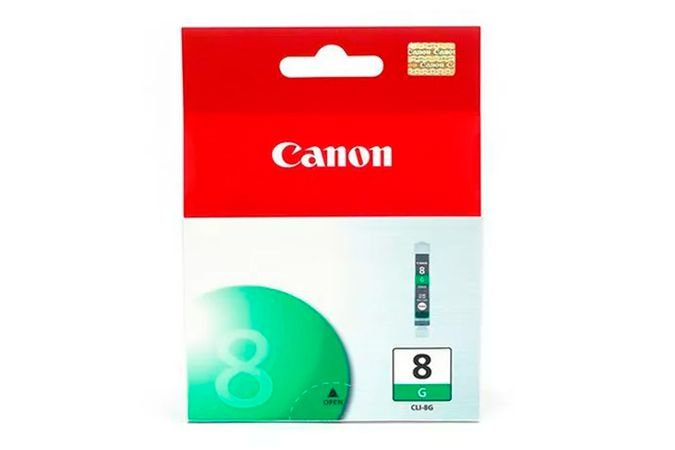Cartucho Original Canon Cli 8 Cli8 Cli8G Verde Pro9000 iP4500 13ml