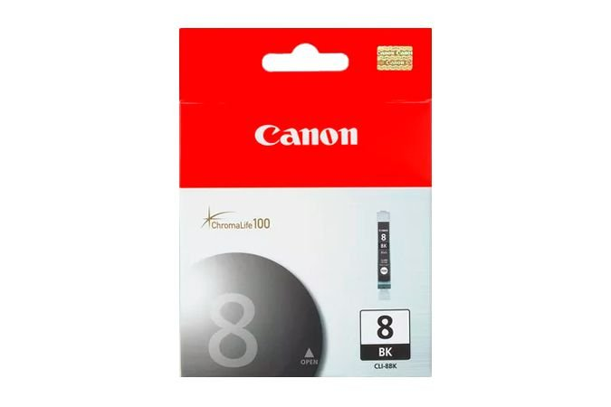 Cartucho Original Canon Cli 8 Cli8 CliBK Preto Pro9000 iP4500 13ml
