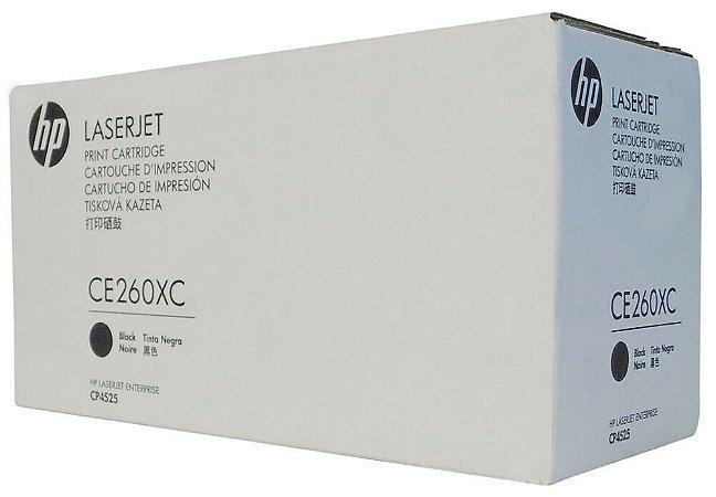 Toner Original  Ce260X Ce260xc 649x Black Cp4025 Cp4025n Cp4525 Cp4525n 17k