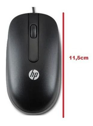 Mouse Laser Usb Original Hp 800dpi