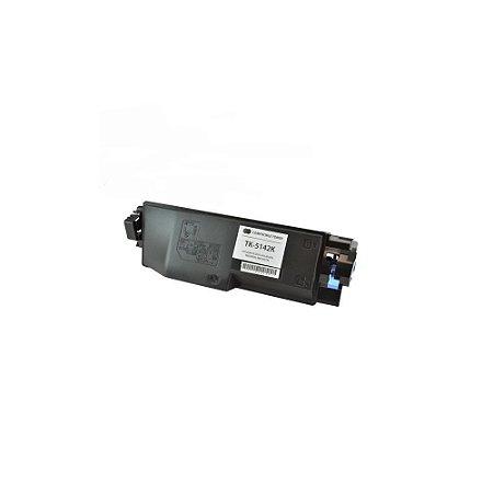 Toner Compatível Kyocera Tk-5142 Tk5142 TK5142k Black Ecosys P6130cdn M6530cdn M6030cdn 7k