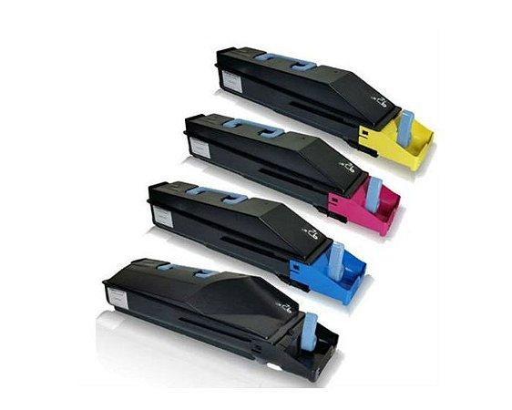 Kit 4 Toner Compatível Kyocera Tk-5142 Tk5142 Ecosys P6130 M6530 M6030 K M C Y