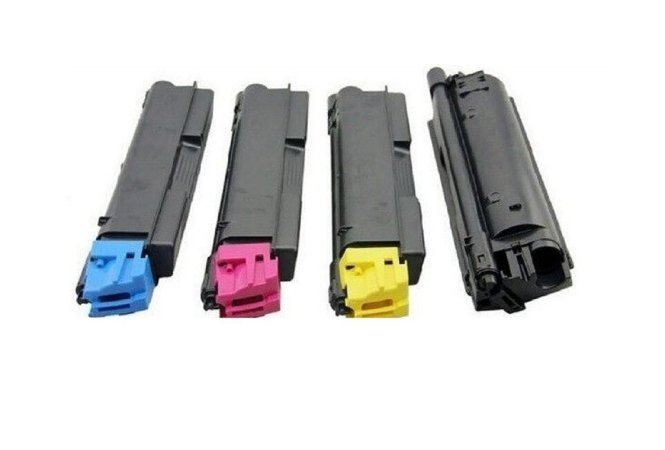 Kit 4 Toner Compatível Kyocera Tk-5152 Tk5152 P6035 M6035 M6535 K M C Y 12k