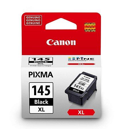 Cartucho Original Canon Pg145XL Pg 145XL Preto 12ml MG2410 MG2510 MG2910 Ts3110 Mg3010