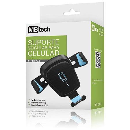 Suporte Veicular Smartphone Gps Mbtech Mb-84274