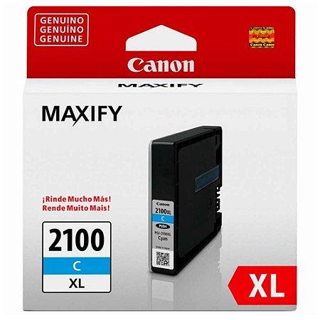 Cartucho Original Canon PGI-2100XL PGI2100XL Cyan IB4010 MB5310 19,3ml 9280B001AA