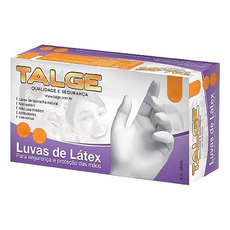 Luva Procedimentos Latex Sem Pó Tam P C/100 Und