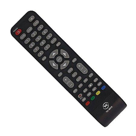 Controle Remoto Tv Semp Toshiba Sti Led Ct-66470 LE3273W LE3973F Vc-8074