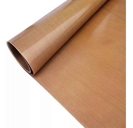 Manta Teflon Sublimação Prensa 5 metros x 80cm Sem Adesivo - Alta Qualidade