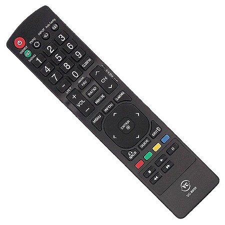 Controle Remoto Tv Lcd Led LG Akb72915252 Akb72915214 55L 42L 4600 5300