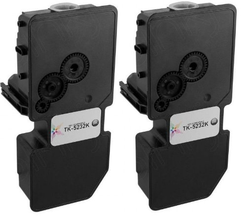 Kit 2 Toner Compatível Kyocera Tk5232 TK5232k Black M5521 P5021