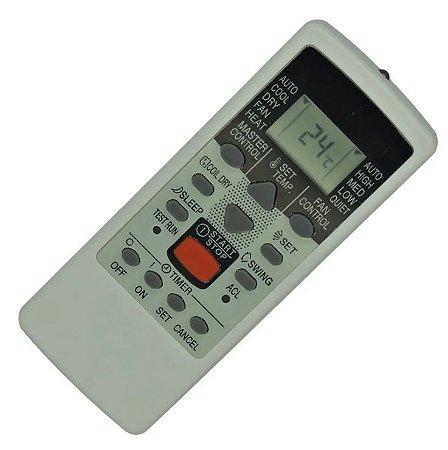 Controle Remoto Para Ar Condicionado Fujitsu Ar-je4 ar-je5