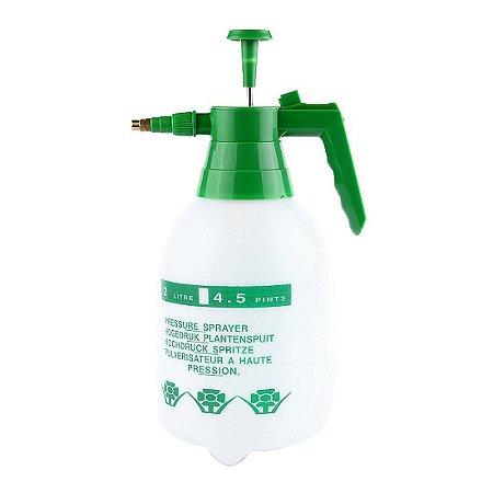Pulverizador Borrifador Manual 2 Litros Bomba de Spray Compressão Jardim
