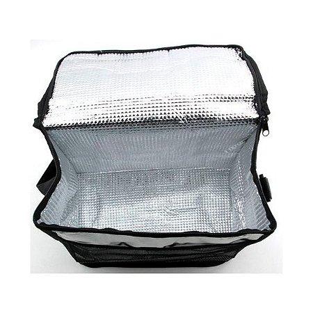 Bolsa Térmica Cooler Com Alça Quente E Frio 12 Litros