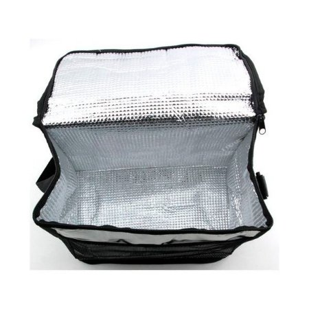 Bolsa Térmica Lancheira 8 Litros Prata C/ Alça