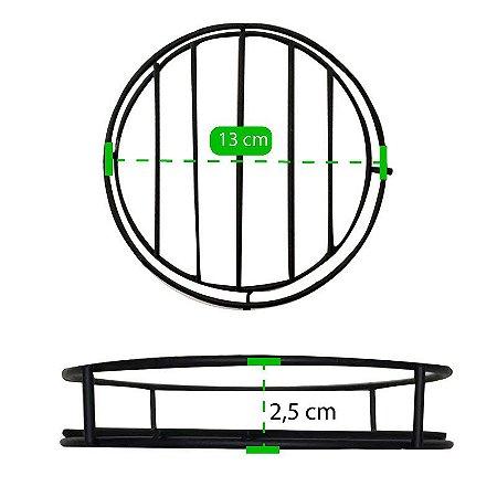 Suporte De Metal Para Vasos 23cm