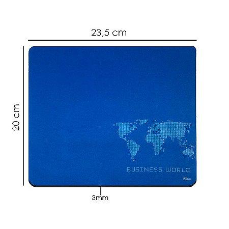MousePad  20x23 cm Speed Azul Pc Note E Jogos
