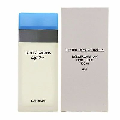 TESTER Perfume Dolce   Gabanna Light Blue Feminino EDT 100ml ... 368776ed8d