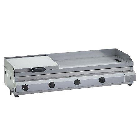 SCG 110 Sanduicheira a Gás 110 x 45 cm com Prensa Linha Tradicional 4 Queimadores Edanca