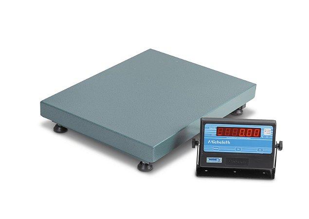 Balança Eletrônica 300 Kg Plataforma 50 x 60 Cm Sc Micheletti
